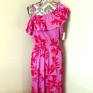 NWT Old Navy One Shoulder Maxi Dress